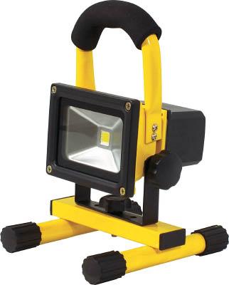 日動 充電式LEDライトチャージライトミニ【BAT-10W-L1PS-Y】(作業灯・照明用品・投光器)