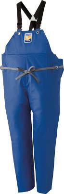 ロゴス マリンエクセル 胸当て付きズボン膝当て付きサスペンダー式 ブルー 3L【12063150】(保護具・作業服)