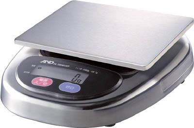 A&D 防塵・防水デジタルはかりウォーターボーイ皿寸法174×137mm【HL3000LWP】(計測機器・はかり)