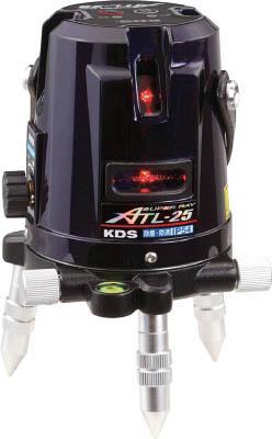 【初回限定お試し価格】 KDS レーザー墨出器スーパーレイ25受光器・三脚付【ATL-25RSA】(測量用品・レーザー墨出器)():リコメン堂生活館-DIY・工具