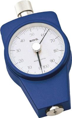 KDS ゴム硬度計Aタイプ置針型【DM-204A】(計測機器・硬度計)