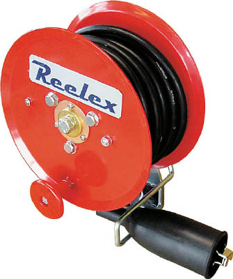 Reelex アースリール 5.5SQ×10m 50Aアースクリップ付【ER-810M】(コードリール・延長コード・電源リール)