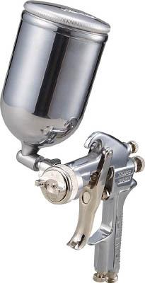 TRUSCO スプレーガン重力式 ノズル径Φ1.4 0.4L アルミカップセット【TSG-508G-14S】(塗装・内装用品・スプレーガン)
