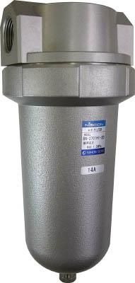 日本精器 エアフィルタ25A中圧用【BN-2701H1-25】(空圧・油圧機器・エアユニット)