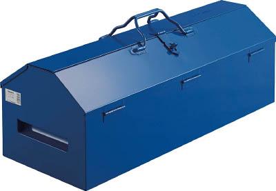 TRUSCO ジャンボ工具箱 600X280X326 ブルー【LG-600-A】(工具箱・ツールバッグ・スチール製工具箱)