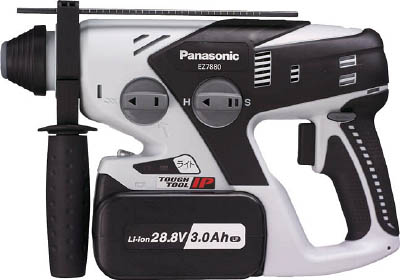 Panasonic 28.8V充電ハンマードリル【EZ7880LP2S-B】(電動工具・油圧工具・ハンマードリル)(代引不可)