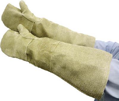 ZETEX ゼテックスプラスダブルパームリバーシブルミットン58cm【22112-2300-ZP】(作業手袋・耐熱・耐寒手袋)