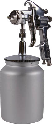 TRUSCO スプレーガン吸上式 ノズル径Φ1.4 1Lカップ付セット【TSG-508S-14S】(塗装・内装用品・スプレーガン)