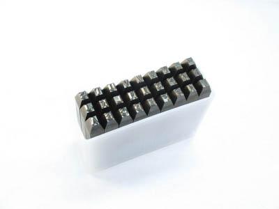 TRUSCO 英字刻印セット 6mm【SKA-60】(ハンマー・刻印・ポンチ・刻印)