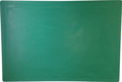 TRUSCO 粘着マットフレーム 600X900用 グリーン【CM6090-BASE-GN】(床材用品・クリーンマット)
