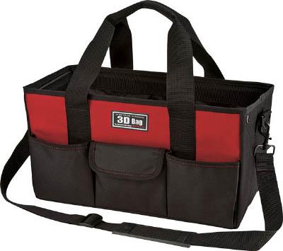 リングスター マーケット スリーディバッグRD-435レッド RD-435-R 工具箱 バッグ ツールホルダ 定番 ツールバッグ