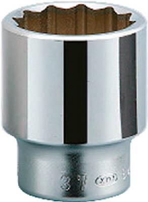 KTC 19.0sq.ソケット(十二角) 75mm【B40-75】(レンチ・スパナ・プーラ・ソケット)【送料無料】