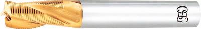 OSG ハイスエンドミル【TIN-LS-RESF-18】(旋削・フライス加工工具・ハイスラフィングエンドミル)