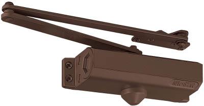 ニュースター ドアクローザー P-183 バーントアンバーN-52【P183-N52】(建築金物・工場用間仕切り・ドアクローザ)