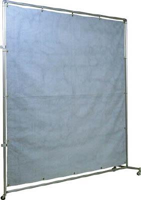 【お得】 吉野 2×2 火花用衝立アルミパイプ 接続キャスター【YS-22JC-A】(溶接用品・溶接遮光フェンス):リコメン堂生活館-DIY・工具