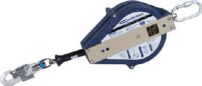 ツヨロン ウルトラロック15メートル 台付・引寄ロープ付【UL-15S-BX】(保護具・安全帯)(代引不可)