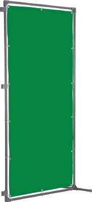 TRUSCO 溶接遮光フェンス 2020型接続固定足 緑【YFASK-GN】(溶接用品・溶接遮光フェンス)