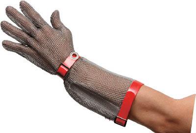 【 開梱 設置?無料 】 耐切創手袋ロングタイプ ステンレス製 MST-550 ミドリ安全 S MST550S:リコメン堂生活館-ガーデニング・農業