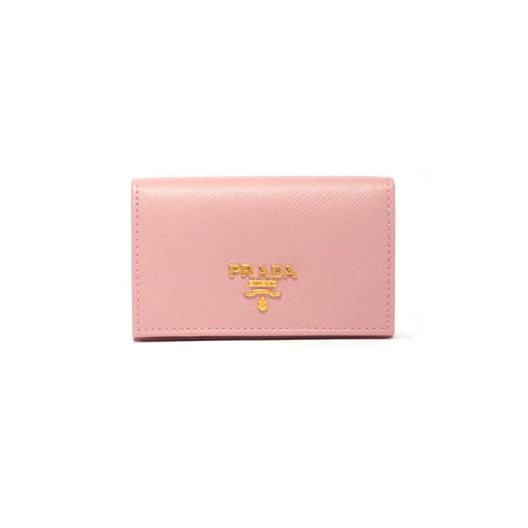 PRADA CARD HOLDER カードホルダー 1MC122QWA レディース PETALO F0442 ライトピンク プラダ【送料無料】