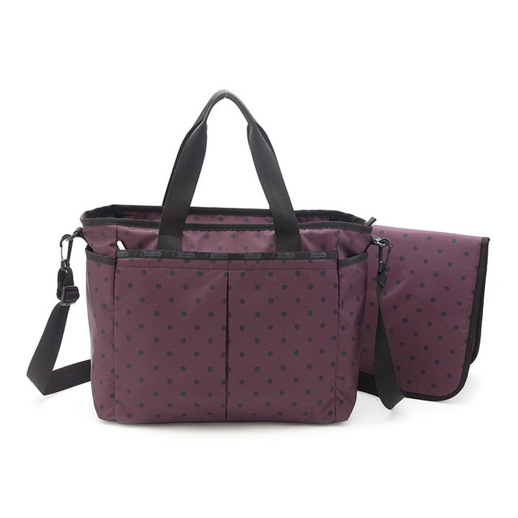 Lesportsac 7532-D301 Ryan Baby Bag(ベビーバッグ)Mulberry Dotマザーズバッグ/レスポートサック ■【送料無料】