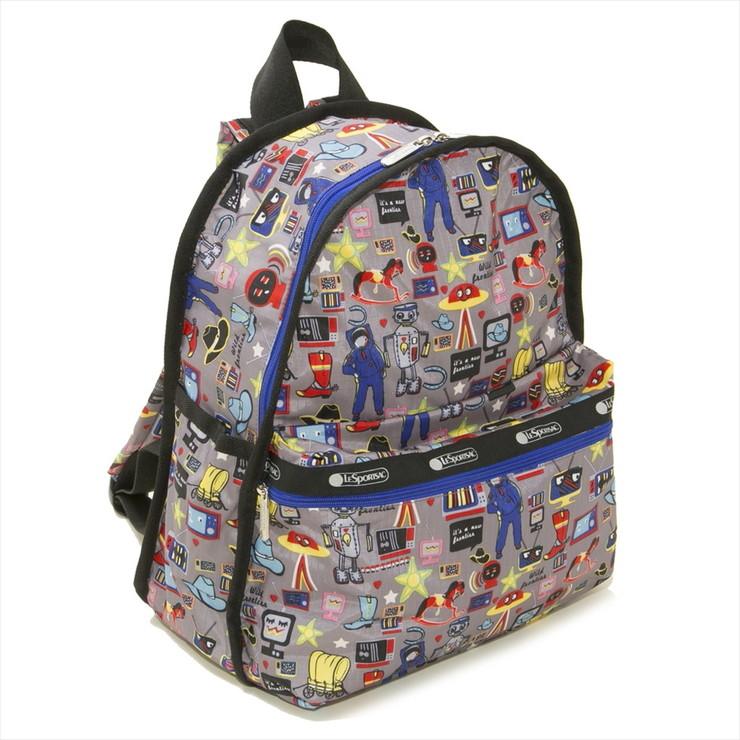 LeSportsac バックパック BASIC BACKPACK 7812 レディース BUCKAROO E292 レスポートサック【送料無料】