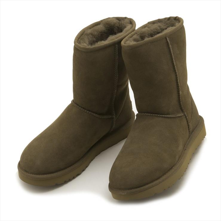 UGG ブーツ 1016223 CLASSIC SHORT II BOOT レディース DLF DRY LEAF ブラウン アグ【送料無料】