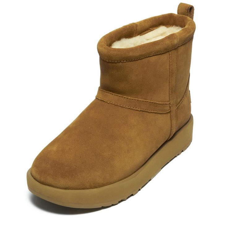 UGG ブーツ CLASSIC MINI WATERPROOF 1019643 レディース CHESTNUT CHE アグ【送料無料】