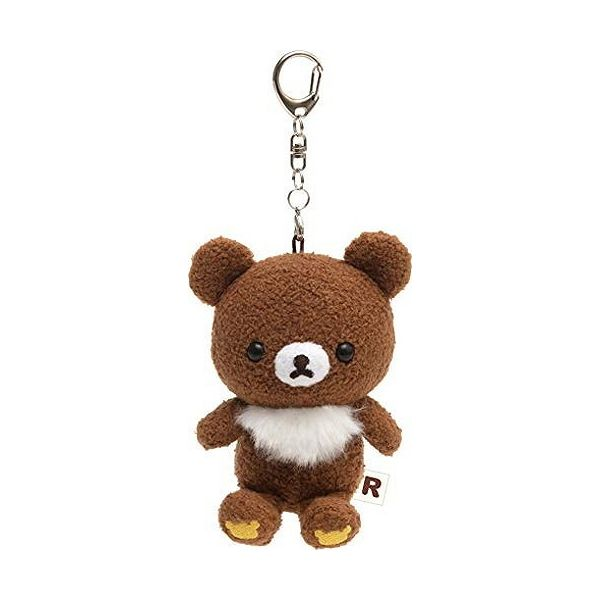 Rilakkuma Acrylic Keychain Key Holder Rilakkuma Deli Hamburger San-X Japan
