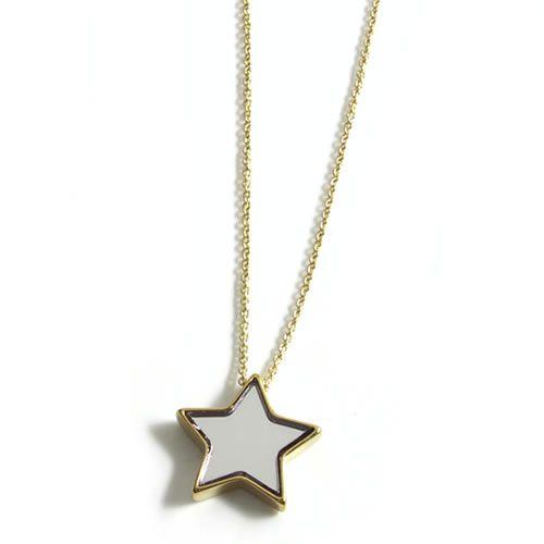マークバイマークジェイコブス All Stars Star Pendant スターモチーフ ミラー ペンダント ネックレス M0004200 067RjL45A