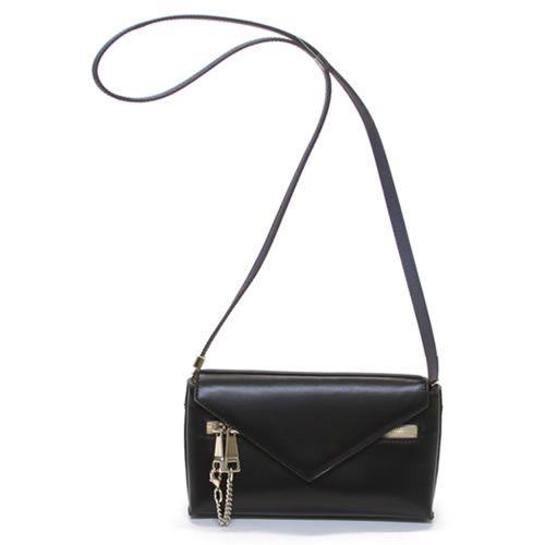 クロエ CASSIE Small emvelope bag w. strap キャシー チェーンモチーフ バイカラー クラッチ・ショルダーバッグ ≪2014AW≫ 3S0072 898 001 BLACK【送料無料】