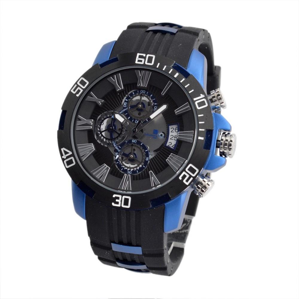 超歓迎された サルバトーレ・マーラ Salvatore Marra SM15109-BKBL メンズ 腕時計, 家具のコンシェルジュ 151f649a