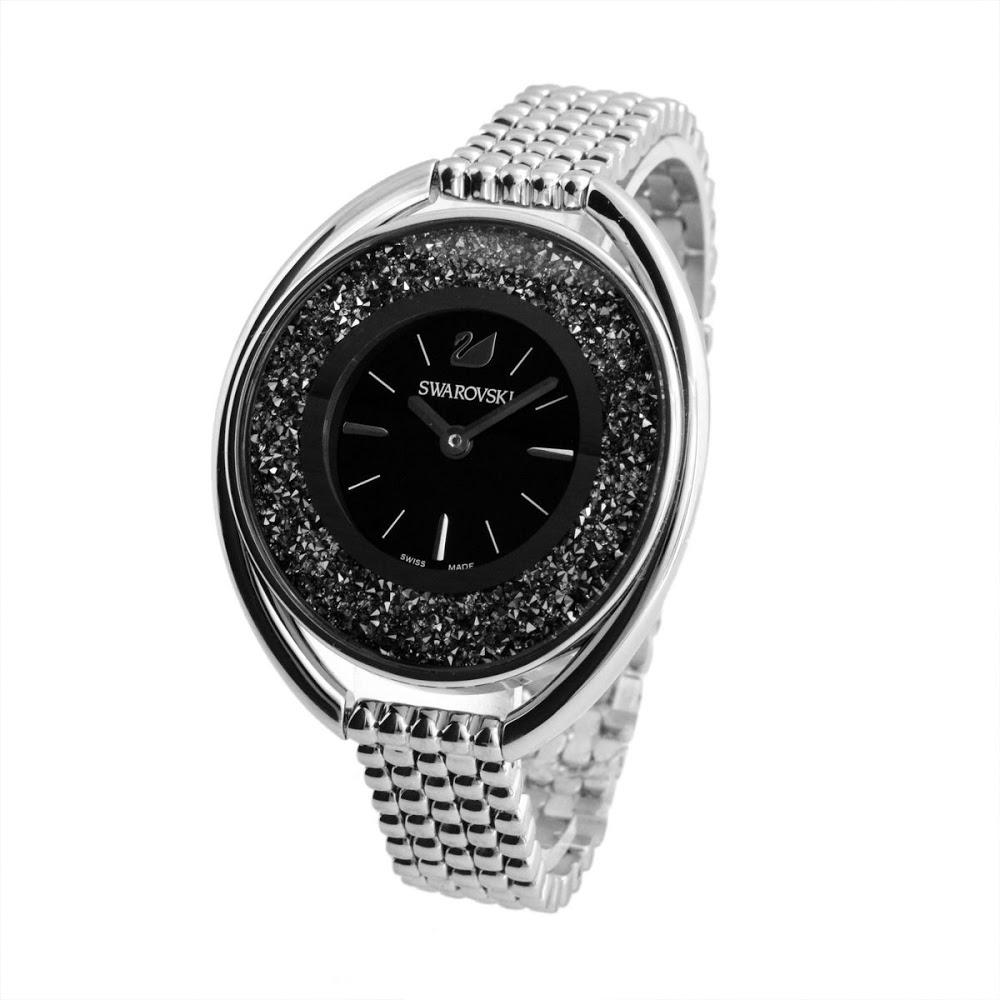 2b37b5f88c93 スワロフスキー SWAROVSKI 5181664 Crystalline Oval (クリスタルライン・オーバル) ブレスレット ウオッチ  レディース 腕時計
