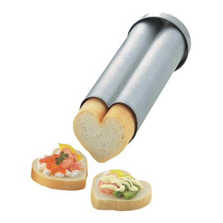 タイガークラウン NEW ARRIVAL カナッペ型 手数料無料 パン型 抜き型 ハート ハートブレッド 代引不可