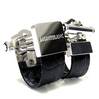 【代引き不可】 MONTBRANC モンブラン カフス 38087 シルバー Silver系, ミカモソン b41c3784