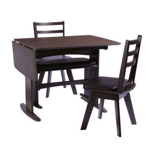 ダイニングテーブル4点セット ダイニングセット 4人掛け バターオーレ ダイニング4点セット(90・120cm幅/4人掛け用)(代引不可)【送料無料】
