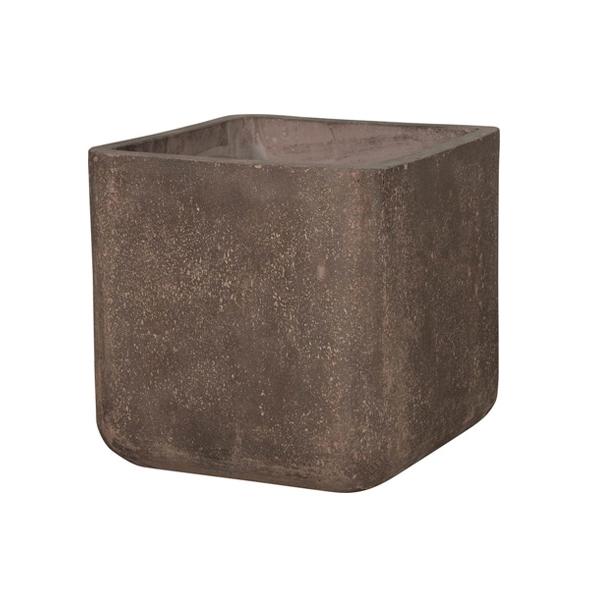 【コーテス キューブ Lサイズ】 植木鉢 プランター おしゃれ シンプル 自然 鉢 ガーデン ポット(代引不可)【送料無料】