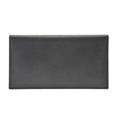 ブルガリ 25752 BLACK 長札 BVLGARI/ブルガリ/長札/長財布/BLACK/CLASSICO/メンズ/25752【送料無料】【smtb-F】