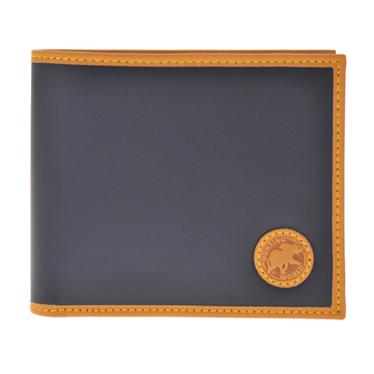 ハンティングワールド 310 16A BATTUEOR NAVY 二つ折り財布(小銭入れ付) HUNTING WORLD/ハンティングワールド/二つ折り財布(小銭入れ付)/二つ折り財布/NAVY/BATTUE ORIGIN/メンズ/310 16A