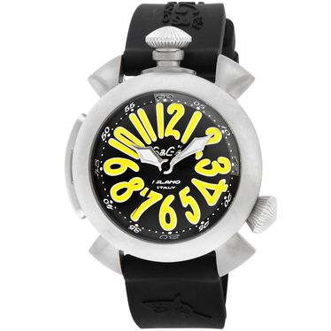 GAGA ガガ ミラノ DIVING48MM 5040.2-BLK RUBBER 腕時計 メンズ