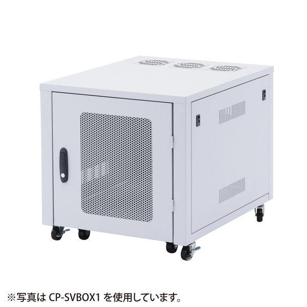 サンワサプライ 置き型用サーバーラック CP-SVBOX2N(代引不可)【送料無料】