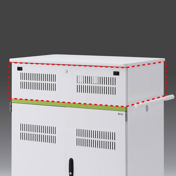 サンワサプライ タブレット収納保管庫用追加収納ボックス(44台収納タイプ用) CAI-CABBOX44【送料無料】 (代引不可)