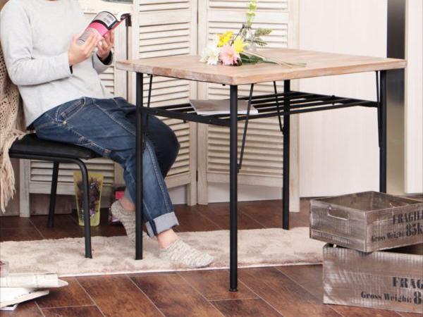 ダイニングテーブル ダイニング 北欧 ミッドセンチュリー ダイニングテーブル モダン 天然木 木製 ダイニングテーブル(代引不可)【送料無料】