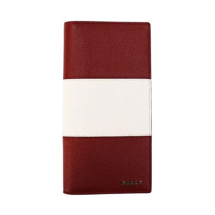 BALLY バリー LALIRO BOLD カラー06 BALLY RED 6205512 二つ折り長財布(ファスナー小銭入れ有) ブランド財布 プレゼント ギフト【送料無料】