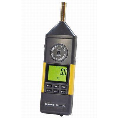 完売 custom(カスタム) 【表示値固定機能付】 デジタル騒音計 (SL-1372G), スイーツプレミアム 30e9e460