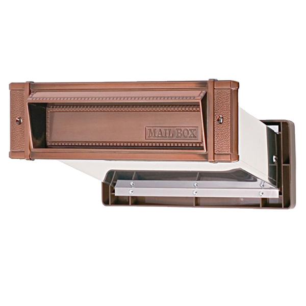 送料無料 水上 メイルシュート 内フタ付気密型 品質保証 GB 大壁 安い 激安 プチプラ 高品質 No.24 0001-05662