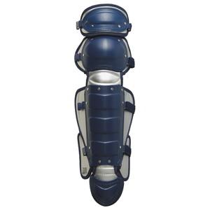 ZETT(ゼット) BLL3233 軟式野球用レガーツ ネイビー×シルバー【送料無料】