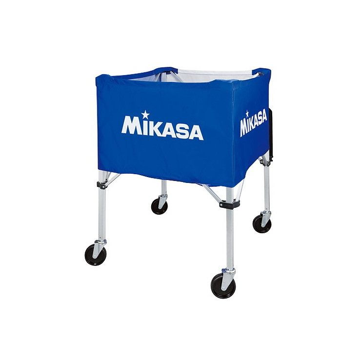 送料無料 ミカサ アウトレット MIKASA 器具 ボールカゴ 屋外用 BCSPHL 幕体 フレーム キャリーケース3点セット 卸売り カラー ブルー