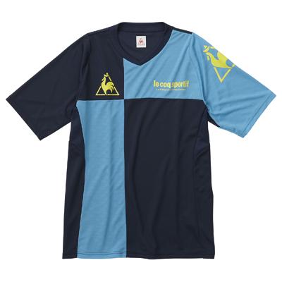 ルコック(lecoq) 半袖プラクティスシャツ QS091241 NSB:リコメン堂生活館