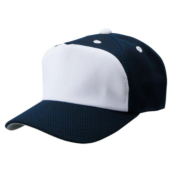 ZETT ゼット フロントパネル型後メッシュキャップ BH158A 野球 売買 人気激安 ベースボール 56~59cm カラー 2911 FREE サイズ ネイビー×ホワイト