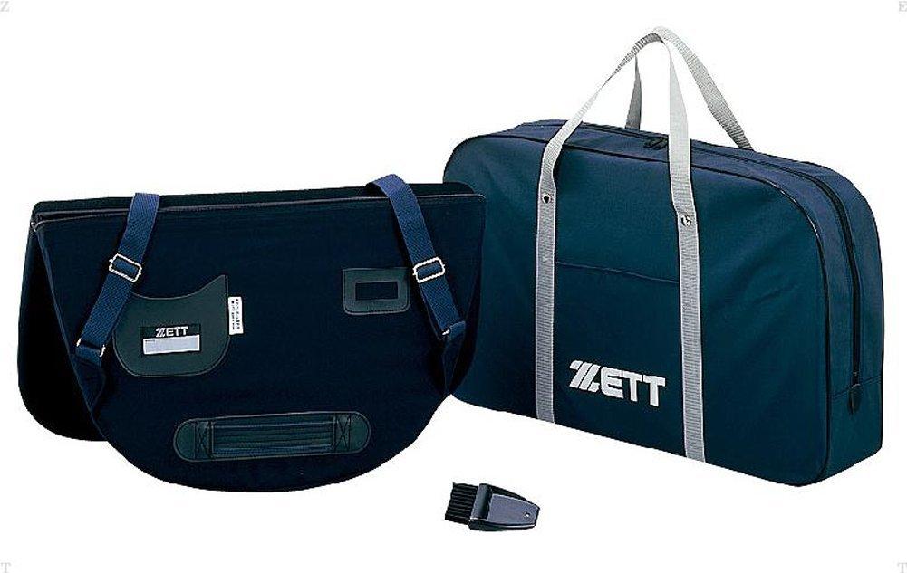 ZETT 硬式・軟式・ソフトボール兼用 アンパイヤプロテクター BL2007B ネイビー 2900 【送料無料】